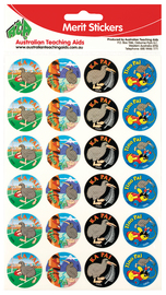 ATA: Merit Stickers - Maori Words (96 Pack)