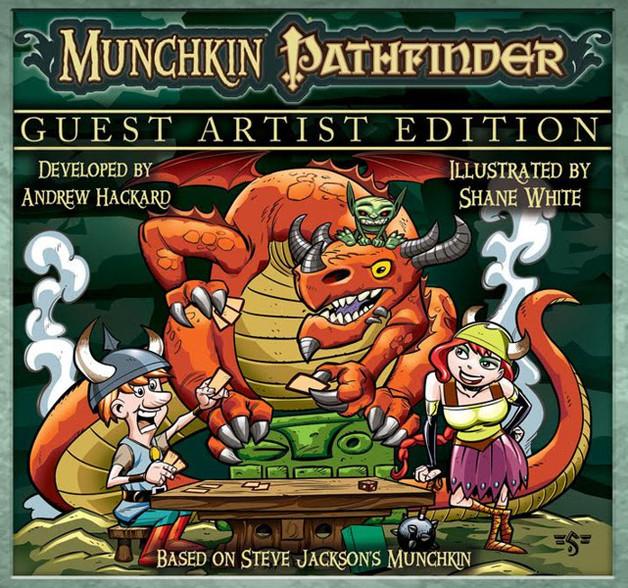 Munchkin Pathfinder - Guest Artist Edition