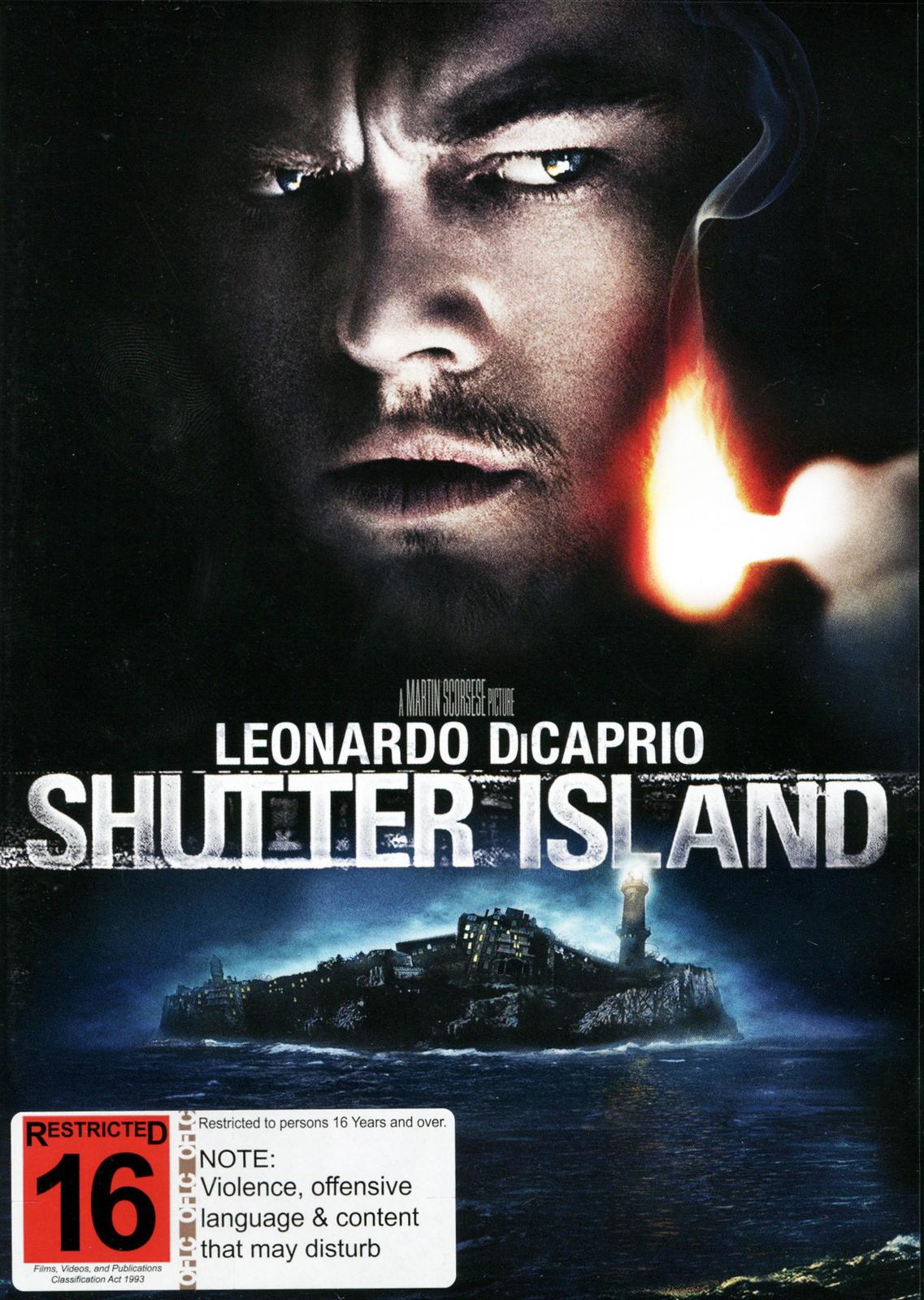 Shutter Island on DVD image