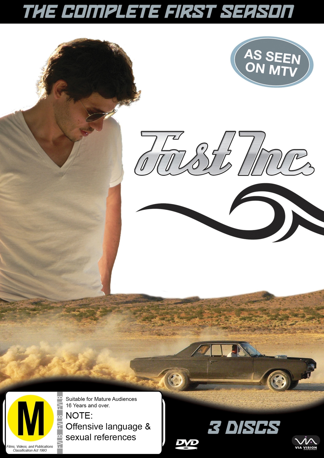 Fast Inc. - Season 1 (3 Disc Set) on DVD image