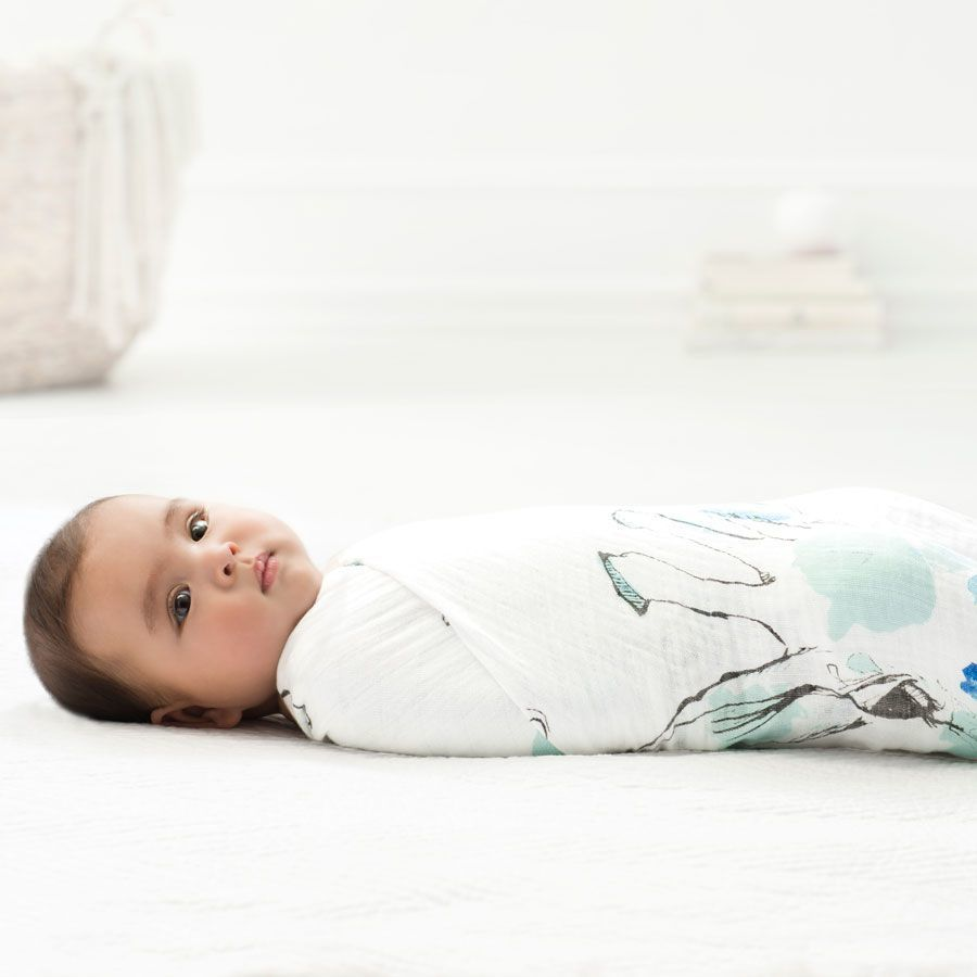 Aden + Anais: Single Swaddle - Giraffe Gaze image