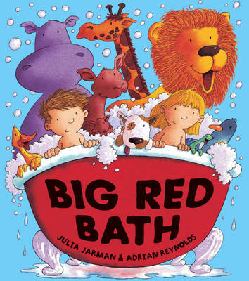 Big Red Bath by Julia Jarman image