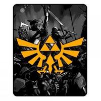 Legend of Zelda - Crest Throw Blanket image