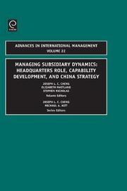 Managing Subsidiary Dynamics