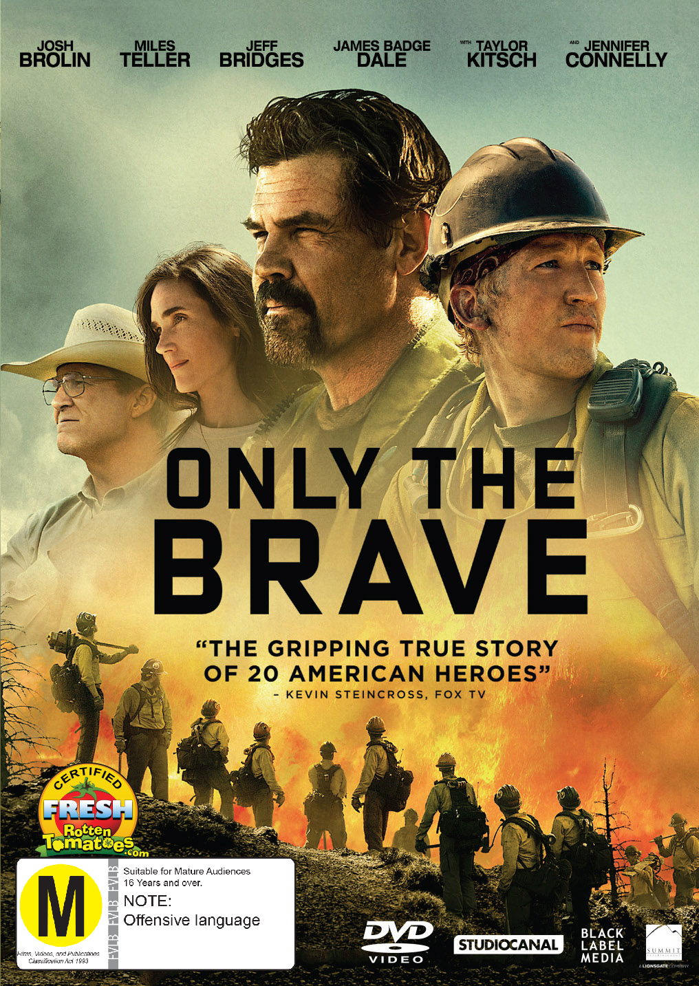 Only The Brave on DVD image