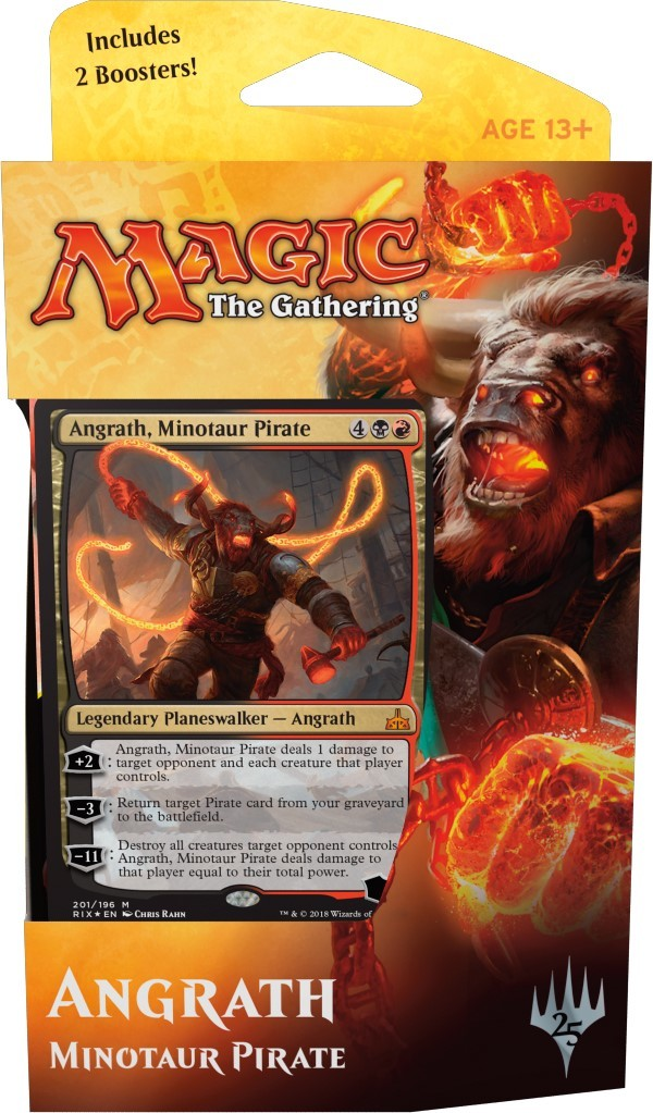 Magic The Gathering Planeswalker Deck: Angrath, Minotaur Pirate image