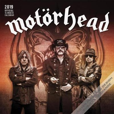 Motorhead 2019 Square by Inc Browntrout Publishers