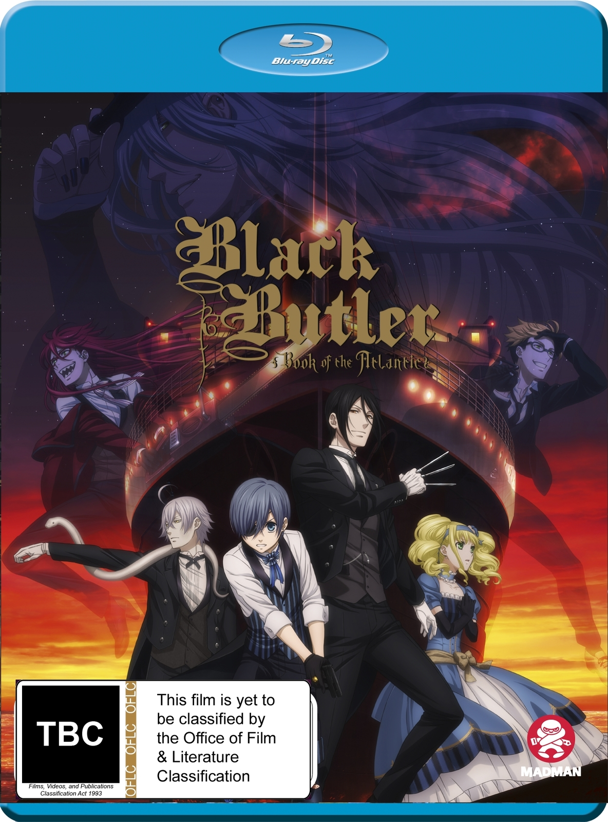 Black Butler: Book Of The Atlantic on Blu-ray image
