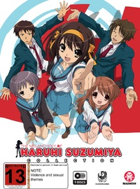 The Melancholy Of Haruhi Suzumiya Collection on DVD