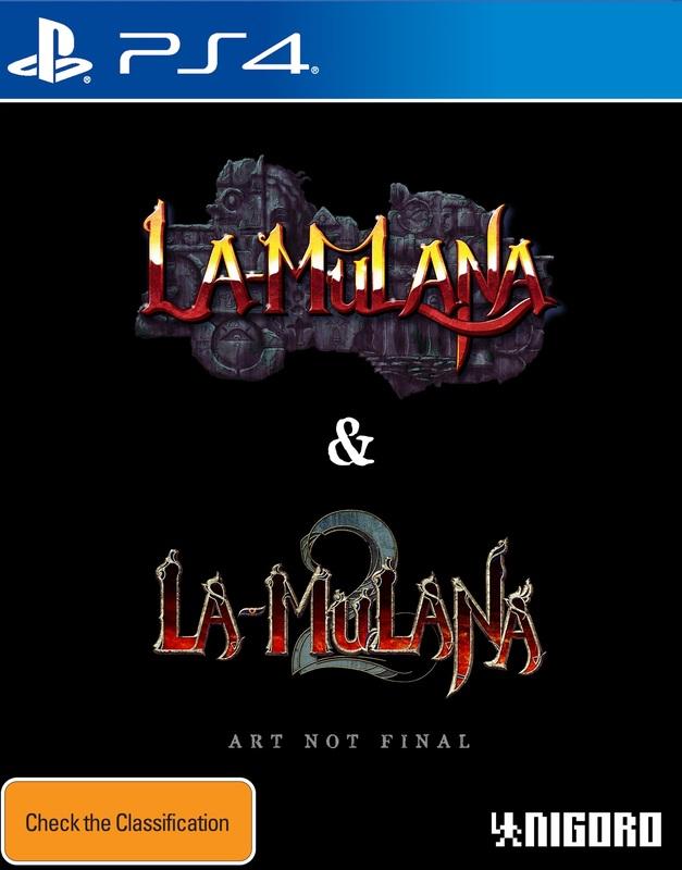 LA-Mulana 1 & 2: Hidden Treasures Edition for PS4