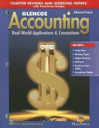 Glencoe Accounting: Real-World Applications & Connections, Advanced Course by Donald J Guerrieri image
