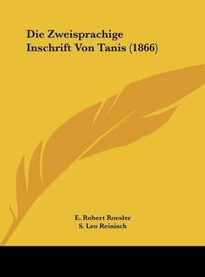Die Zweisprachige Inschrift Von Tanis (1866) image