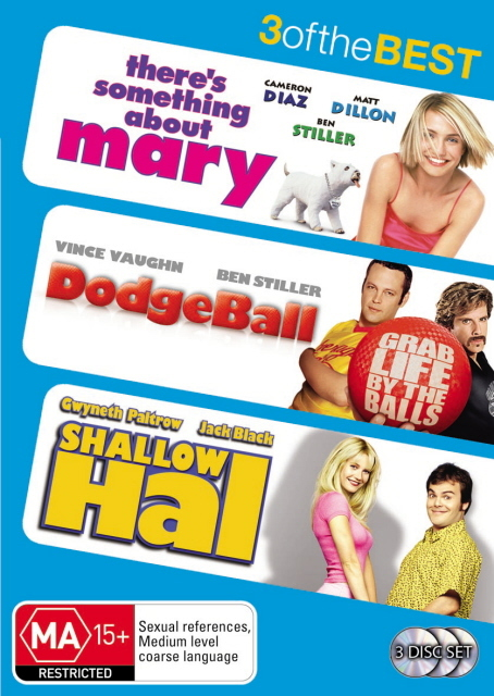 There's Something About Mary / DodgeBall / Shallow Hal - 3 Of The Best (3 Disc Set) on DVD