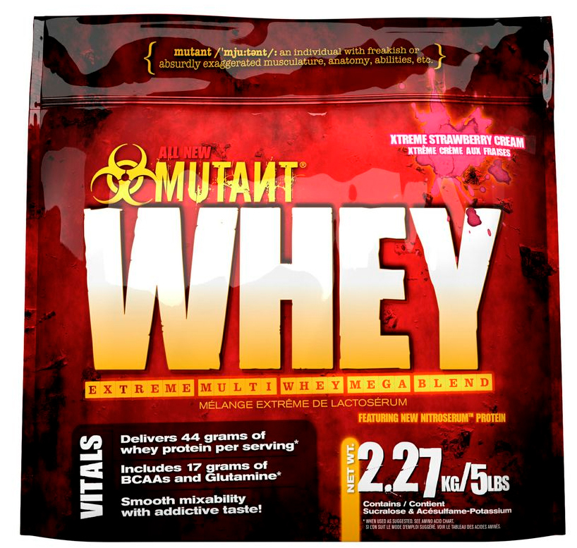 Mutant Whey - Xtreme Strawberry Cream (2.27kg) image