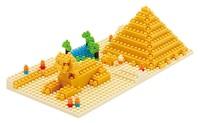 nanoblock: Great Pyramid of Giza