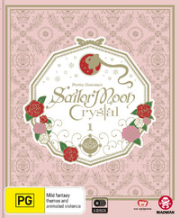 Sailor Moon Crystal Set 1 Limited Edition (DVD/BR) on DVD, Blu-ray