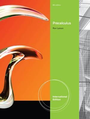 Precalculus, International Edition by Ron Larson image