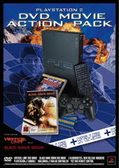 Playstation 2 DVD Movie Action Pack (new low price!) for PlayStation 2