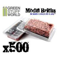 Green Stuff World: Model Bricks Pack (Red)