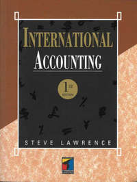International Accounting by S.C. Lawrence image