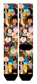 Camp Camp: Characters - Sublimated Crew Socks