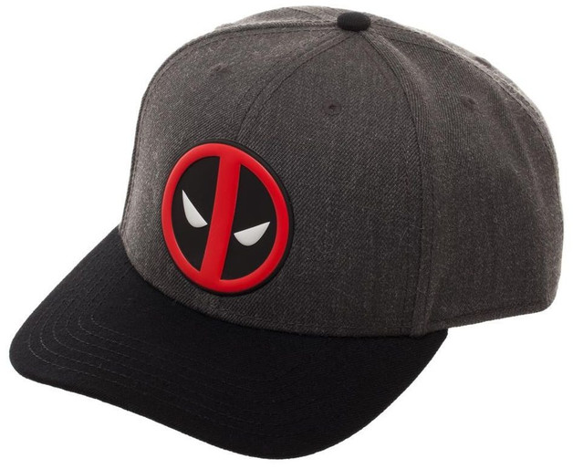 Marvel: Deadpool Logo - Curved Snapback Cap