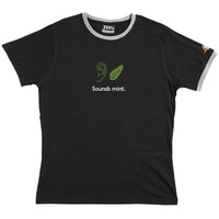 Sounds Mint - Ringer Tee (Black) Small for  image
