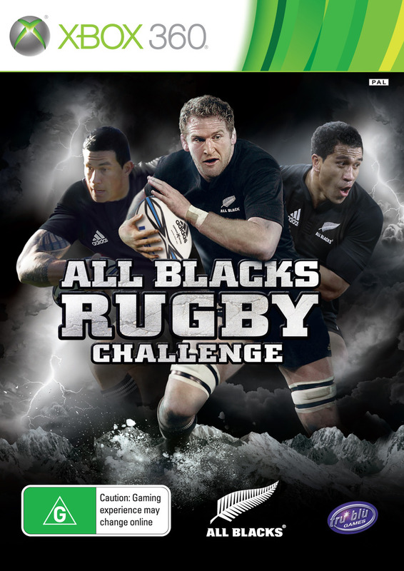 All Blacks Rugby Challenge for X360