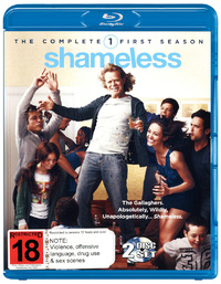 Shameless - The Complete First Season on Blu-ray