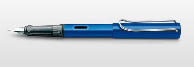 Lamy AL-star Fountain Pen - Blue (Medium)