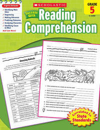 Scholastic Success with Reading Comprehension, Grade 5 by Linda Van Vickle image