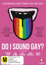 Do I Sound Gay? on DVD