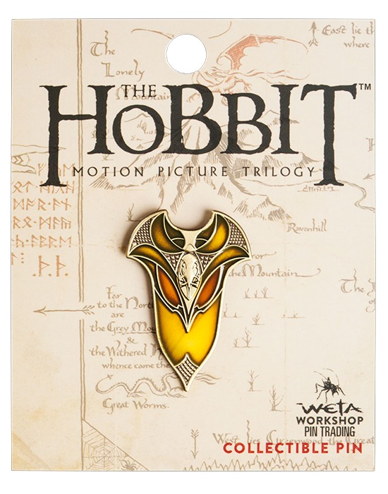 The Hobbit Elven Shield Collectible Pin
