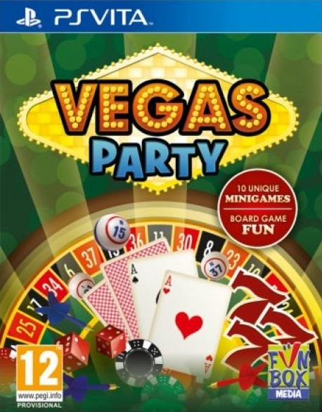 Vegas Party for PlayStation Vita