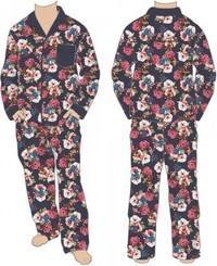 Marvel: All Over Floral Print - Pajama Set (Medium)