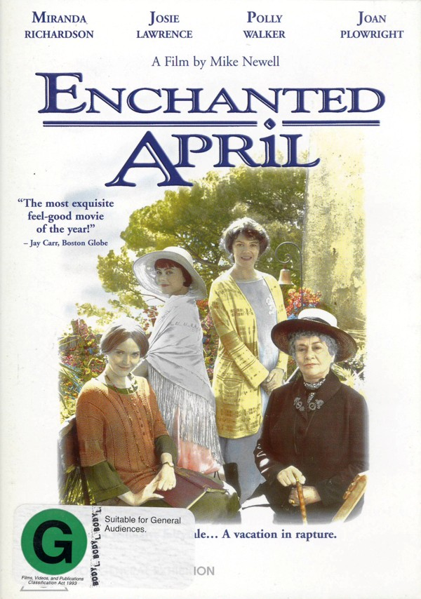 Enchanted April on DVD image