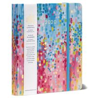 2020 High Note Fresh & Colorful Spring Shower 18-Month Weekly Hardcover Planner by Sellers Publishing