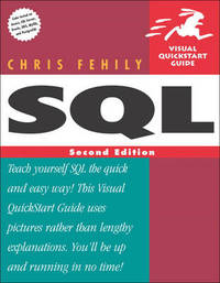 SQL: Visual Quickstart Guide by Chris Fehily image