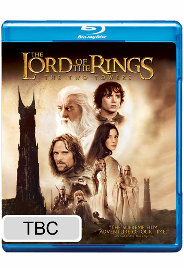 The Lord of the Rings - The Two Towers on Blu-ray