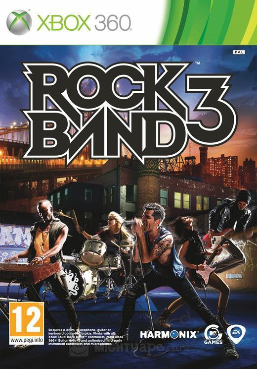 Rock Band 3 (Game Only) (ex display) for X360