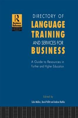 Directory of Language Training and Services for Business by Colin Mellors image