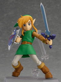 Link - A Link Between Worlds Figma Link Action Figure