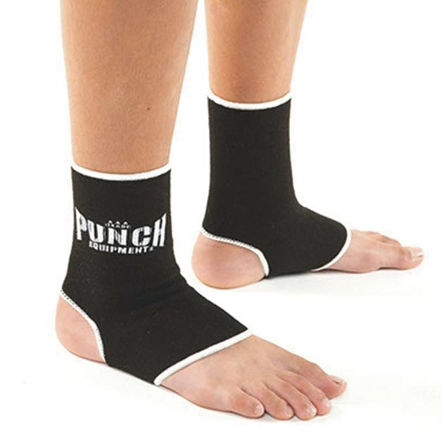 Punch: Cotton Anklets - Medium (Black)