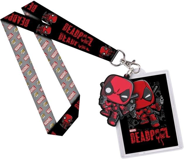 Marvel: Deadpool Pop! Lanyard with Backer Card