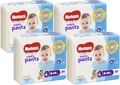Huggies Ultra Dry Nappy Pants Convenience Value Box - Size 4 Boy 9-14 kg (80)