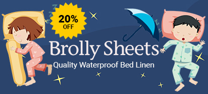 20% off Brolly Sheets!