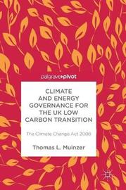 Climate and Energy Governance for the UK Low Carbon Transition image