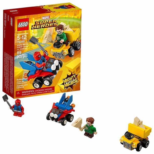 LEGO Super Heroes - Scarlet Spider vs. Sandman (76089)  95c44658ad
