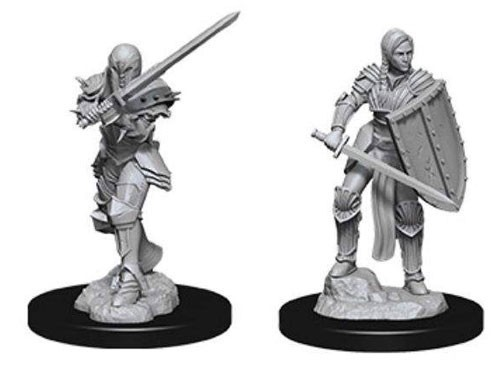 D&D Nolzur's Marvelous: Unpainted Miniatures - Female Human Fighter