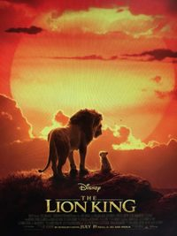 The Lion King (2019) on Blu-ray